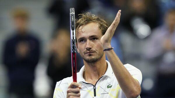 Daniil Medvédev, tenista ruso  - Sputnik Mundo