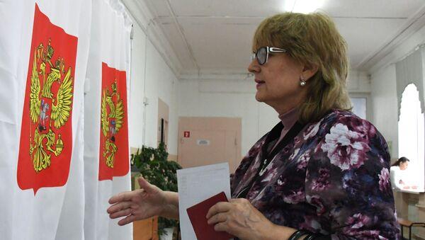Día de elecciones en Rusia - Sputnik Mundo