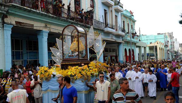 La virgen de la Caridad del Cobre, Santa Patrona de Cuba - Sputnik Mundo