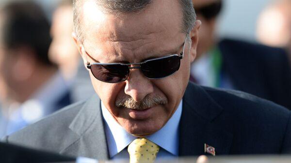 Recep Tayyip Erdogan, presidente turco  - Sputnik Mundo