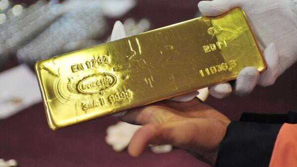 Reserva de oro de Rusia (archivo) - Sputnik Mundo