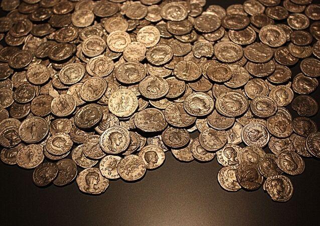 Monedas antiguas, referencial