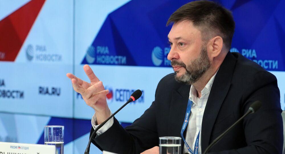 Kiril Vishinski, director ejecutivo de Rossiya Segodniya (archivo)
