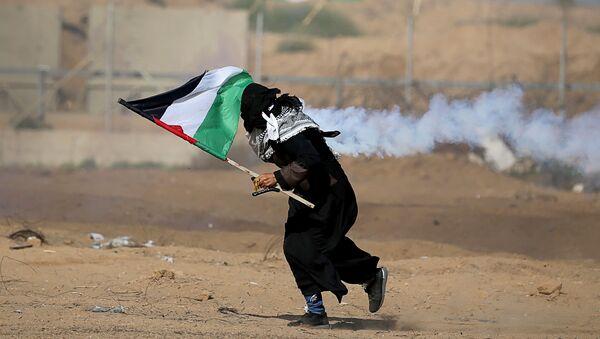Disturbios en la Franja de Gaza - Sputnik Mundo