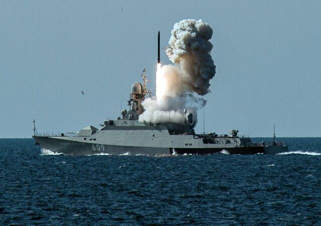 Las maniobras de la Flota del mar Negro rusa (archivo)