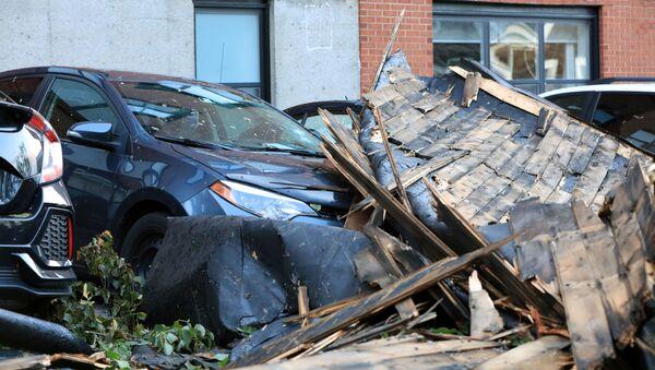 Las consecuencias del huracán Dorian en Nova Scotia, Canada - Sputnik Mundo