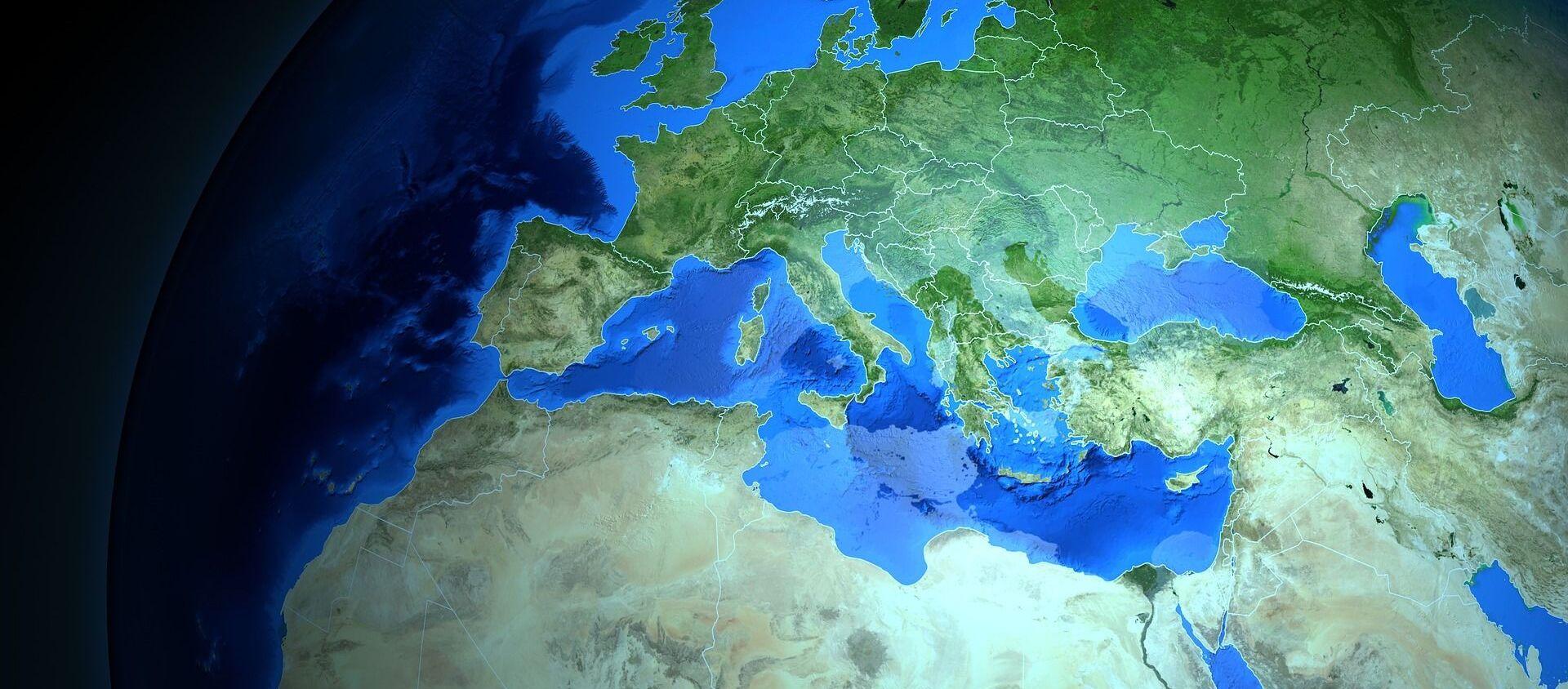 Mapa de Europa - Sputnik Mundo, 1920, 09.09.2019