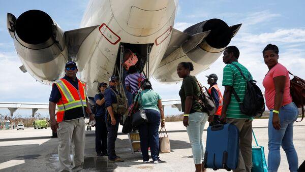 Evacuacion en Bahamas - Sputnik Mundo