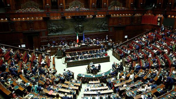 Parlamento de Italia - Sputnik Mundo