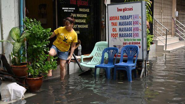Inundaciones en Tailandia (archivo) - Sputnik Mundo