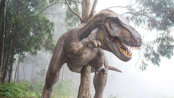 Un dinosaurio (ilustración) - Sputnik Mundo