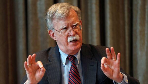 John Bolton, exconsejero de Seguridad Nacional de EEUU - Sputnik Mundo