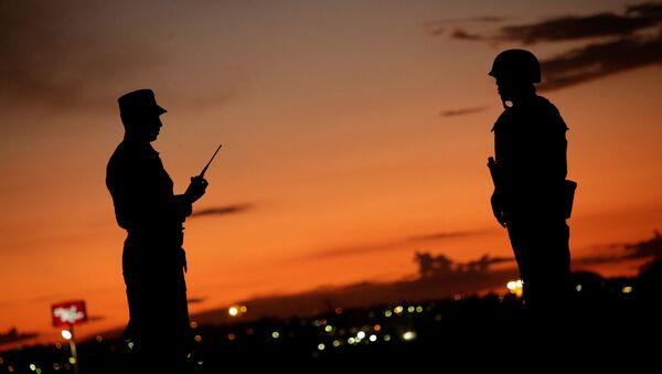 Soldados de la Guardia Nacional mexicana - Sputnik Mundo