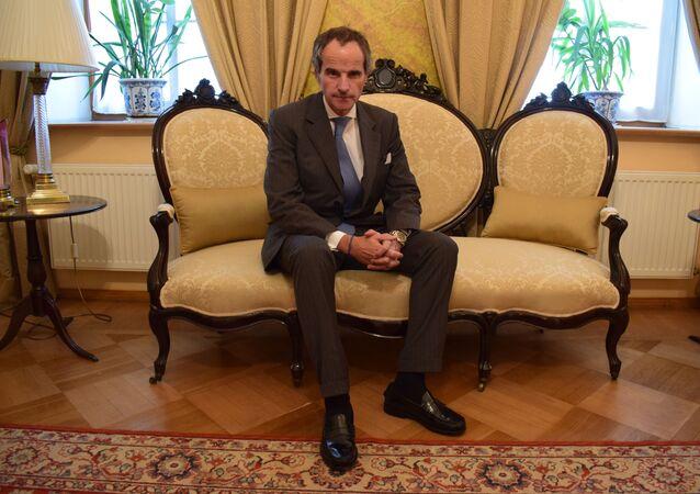 Rafael Grossi, candidato argentino al cargo de director general del Organismo Internacional de Energía Atómica