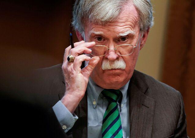 John Bolton, exconsejero de Seguridad Nacional de EEUU
