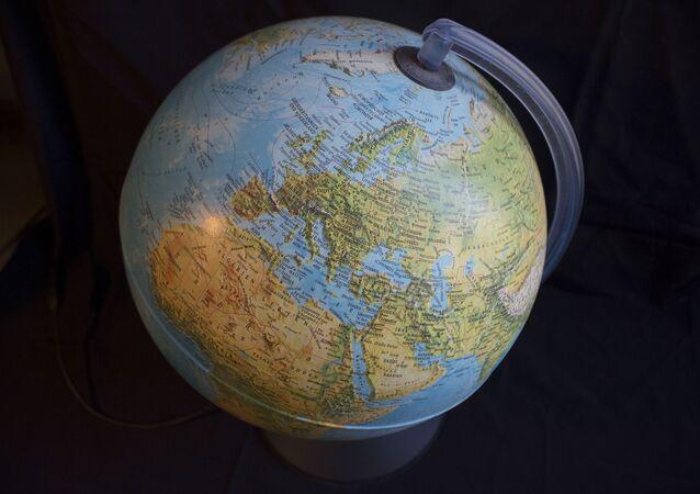 El globo terráqueo