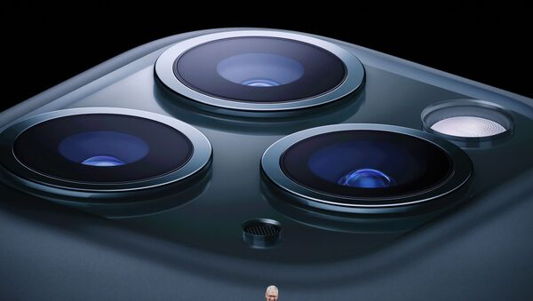 Los nuevos iPhones 11 Pro y Pro Max - Sputnik Mundo