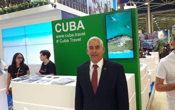 El embajador de Cuba en Rusia, Gerardo Peñalver Portal - Sputnik Mundo