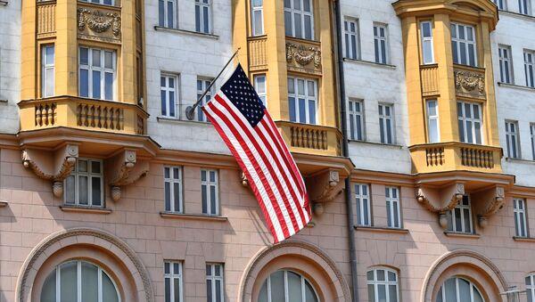 La Embajada de EEUU en Moscú - Sputnik Mundo