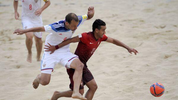 Un partido de Fútbol Playa - Sputnik Mundo