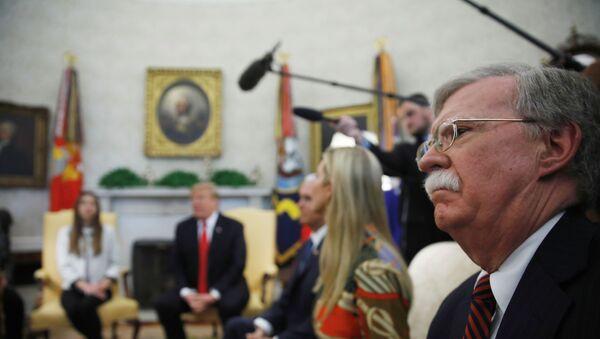 John Bolton, el exasesor de Seguridad Nacional de EEUU - Sputnik Mundo