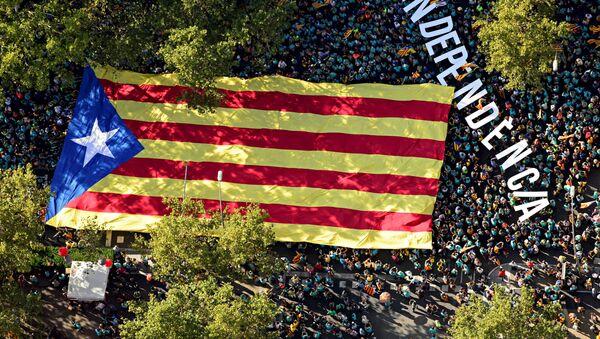 Bandera independentista catalana - Sputnik Mundo