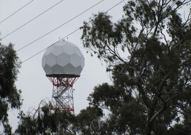 Un radar meteorológico (imagen referencial)