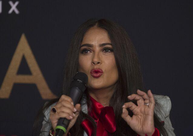 Salma Hayek, la actriz