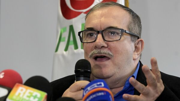 Rodrigo Londoño Echeverri, alias 'Timochenko', líder del partido político Fuerza Alternativa Revolucionaria del Común (archivo) - Sputnik Mundo