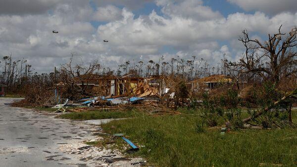 Consecuencias del huracán Dorian en las Bahamas - Sputnik Mundo
