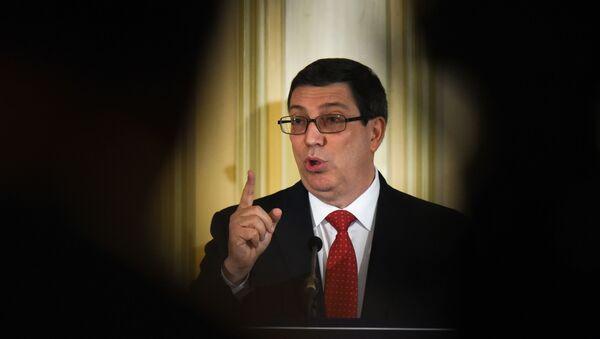 Bruno Rodríguez Parrilla, canciller cubano - Sputnik Mundo