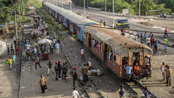 Un tren de la RD Congo (imagen referencial) - Sputnik Mundo