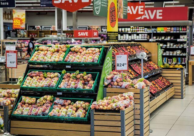 Productos agrícolas en un supermercado (imagen referencial)