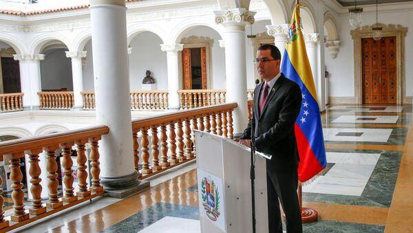 Jorge Arreaza, canciller venezolano - Sputnik Mundo