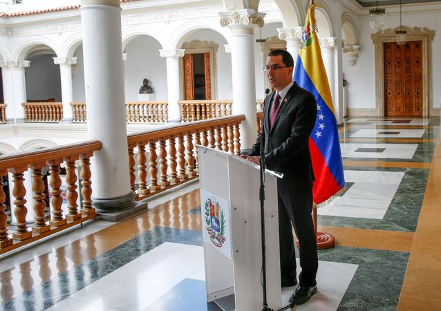 Jorge Arreaza, canciller venezolano (archivo)