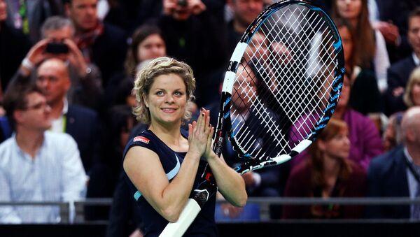 Kim Clijsters, tenisista, ex primera raqueta del mundo - Sputnik Mundo