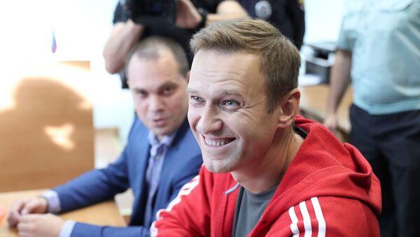 El político ruso Alexéi Navalni - Sputnik Mundo