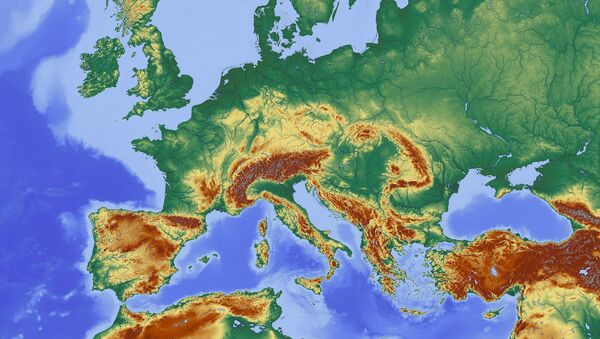 Un mapa - Sputnik Mundo