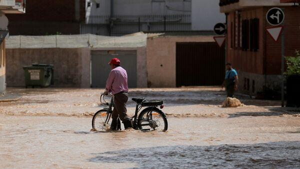 Las lluvias en España - Sputnik Mundo