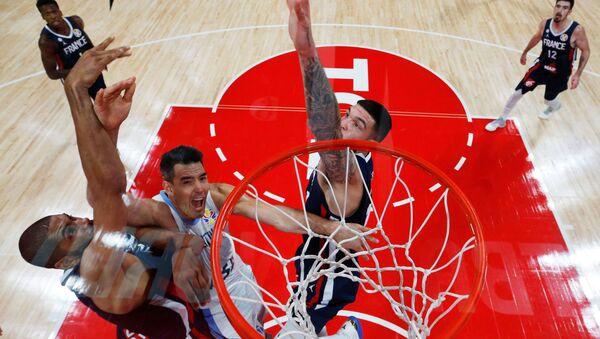 El partido de semifinales del Mundial de baloncesto: Argentina-Francia - Sputnik Mundo