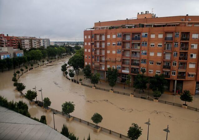 Las inundaciones en el sur de España