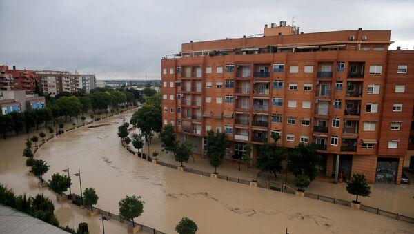Las inundaciones en el sur de España - Sputnik Mundo