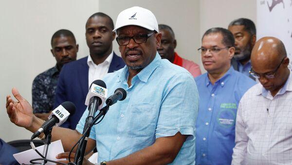 El primer ministro de Bahamas, Hubert Minnis - Sputnik Mundo