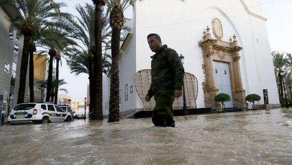 Inundaciones en España, la Comunidad Valenciana - Sputnik Mundo