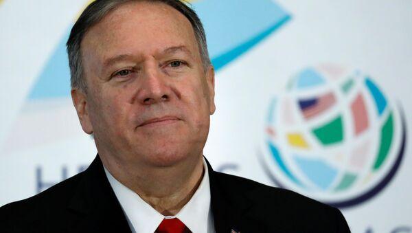 Mike Pompeo, secretario de Estado de EEUU (archivo) - Sputnik Mundo