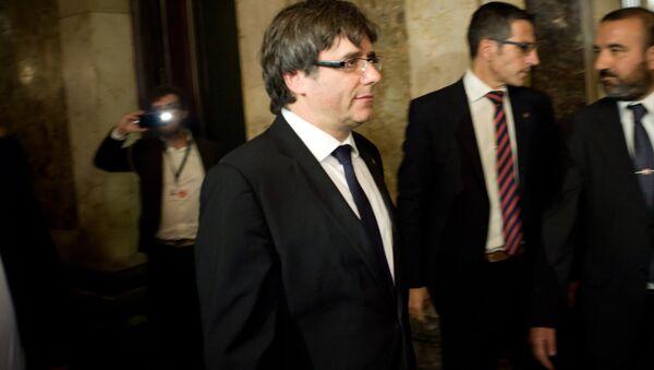 Carles Puigdemont (archivo) - Sputnik Mundo