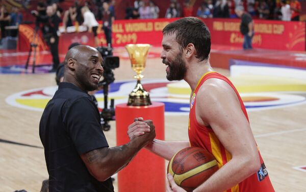 España gana la final de la Copa Mundial de baloncesto - Sputnik Mundo