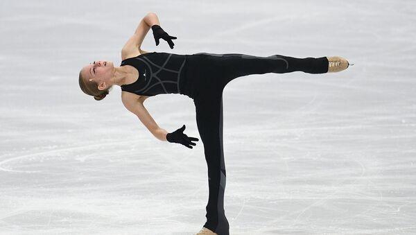 La patinadora Aleksandra Trúsova - Sputnik Mundo