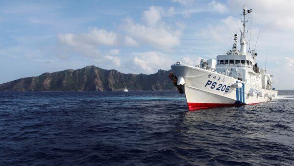 La Guardia Costera de Japón cerca de islas Senkaku (Diaoyu) - Sputnik Mundo