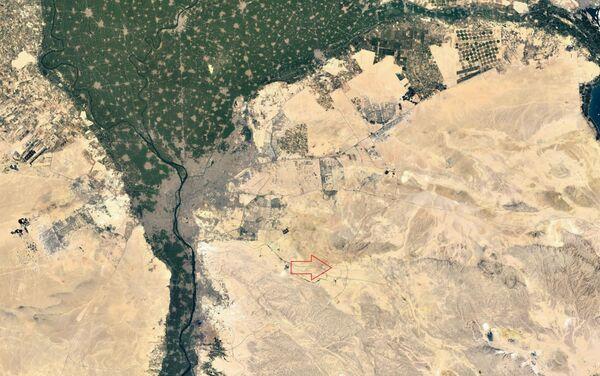 Ubicación del nuevo complejo del Ministerio de Defensa egipcio a las afueras de Cairo - Sputnik Mundo